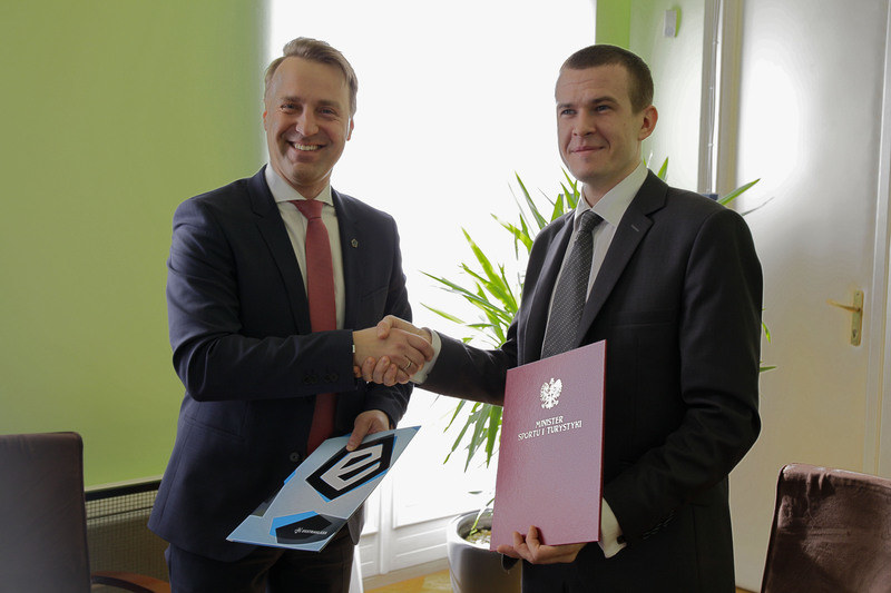 Dariusz Marzec i Witold Bańka (fot. MSiT) /