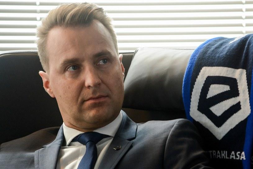 Dariusz Marzec, prezes Ekstraklasy SA /East News