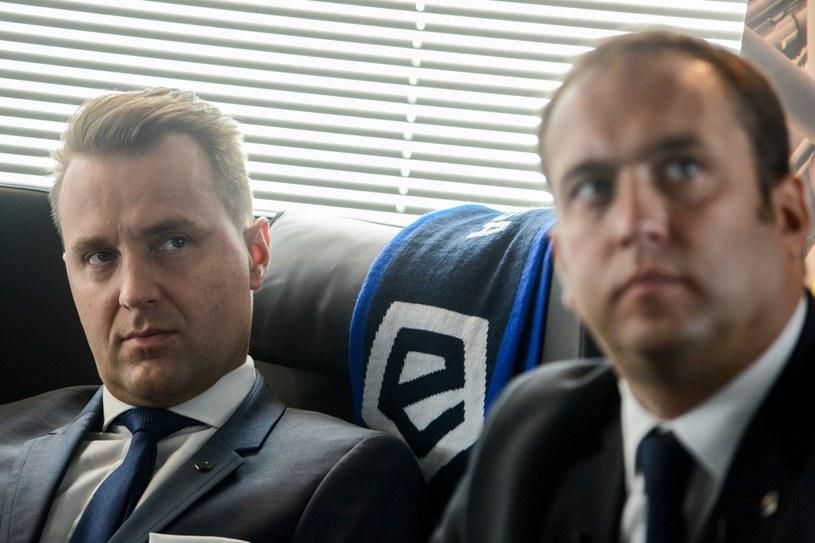 Dariusz Marzec (z lewej) i Marcin Animucki /Mariusz Gaczyński /East News