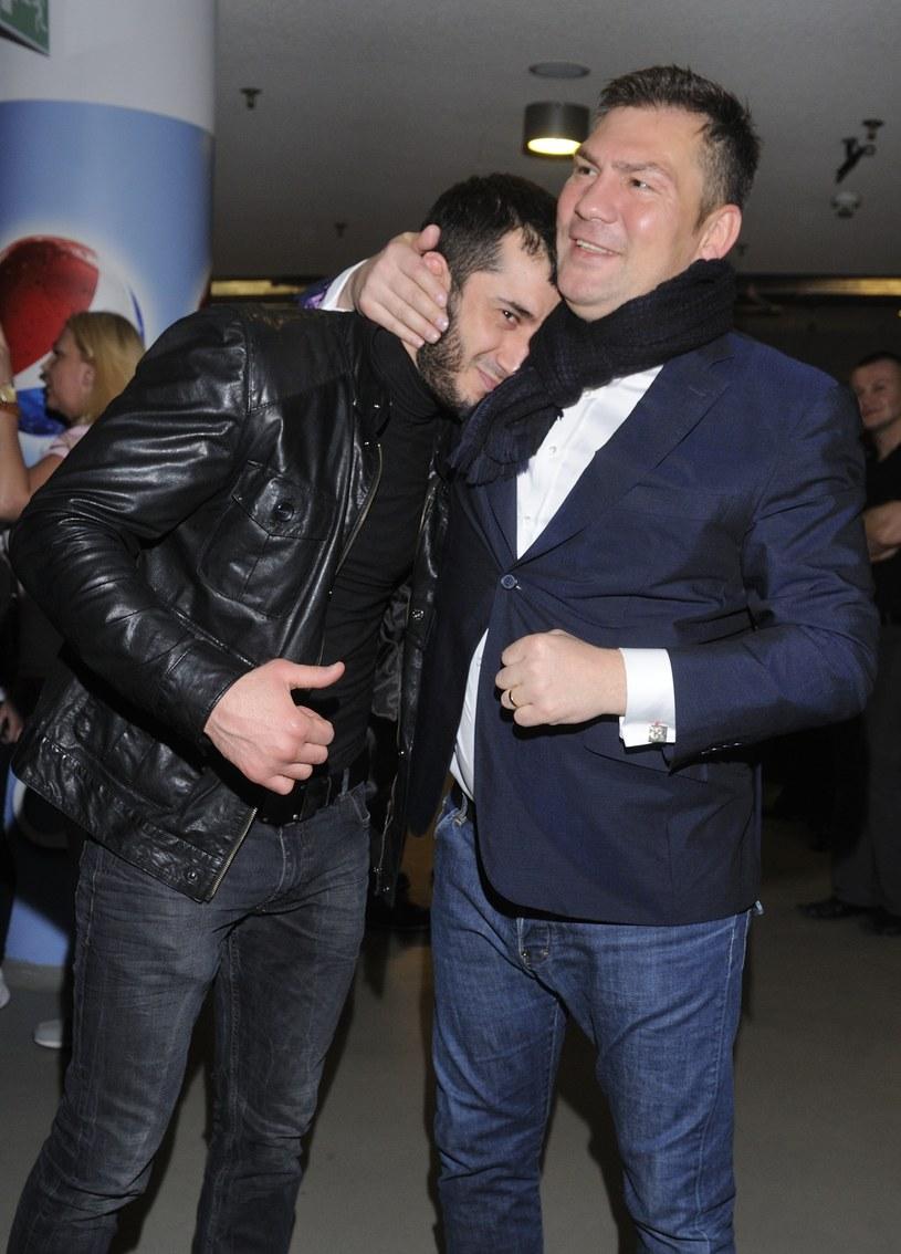 Dariusz Michalczewski i Mamed Khalidov /Szilagyi /MWMedia
