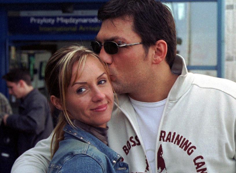 Dariusz Michalczewski i Patrycja Ossowska rozwodzili się aż dwa razy /Jakubowski /KFP /Reporter