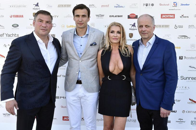 Dariusz Michalczewski, Jarosław Bieniuk, Katarzyna Lapp, Francis Lapp /Kurnikowski /AKPA