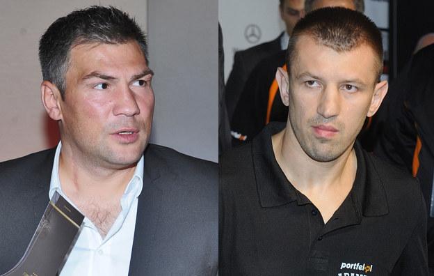 Dariusz Michalczewski, Tomasz Adamek /Andras Szilagyi /MWMedia