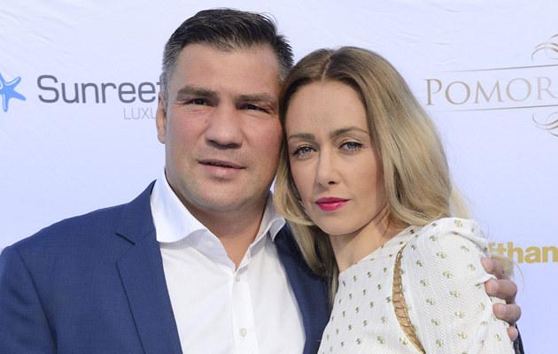 Dariusz Michalczewski z żoną Barbarą /Jarosław Antoniak /MWMedia