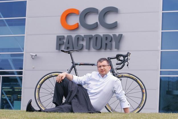 """Dariusz Miłek, prezes CCC (7. na liście najbogatszych """"Wprost""""). Fot. Leszek Zych /Reporter"""