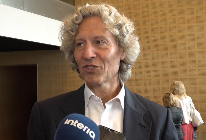 Dariusz Mioduski, prezes Legii i przewodniczący rady nadzorczej Ekstraklasy SA /INTERIA.TV