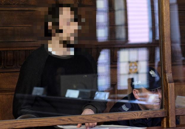Dariusz N. podczas rozprawy w Sądzie Okręgowym w Katowicach / Andrzej Grygiel    /PAP