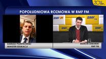 Dariusz Piontkowski: Jesteśmy koncepcyjnie przygotowani do tego, żeby przesunąć termin egzaminu