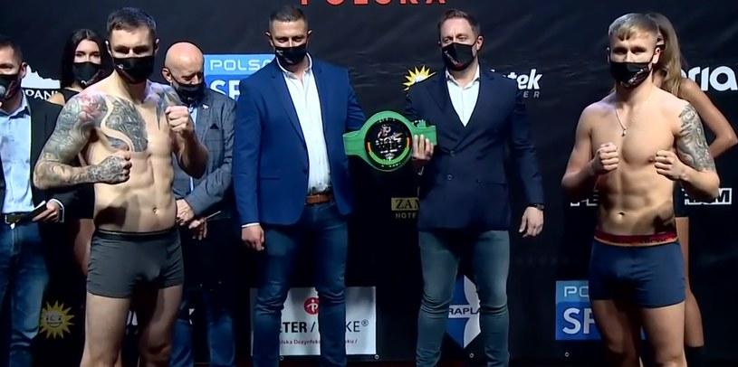 Dariusz Sęk (z lewej) i Paweł Augustynik zmierzą się w walce wieczoru gali Queensberry Polska /Polsat Sport