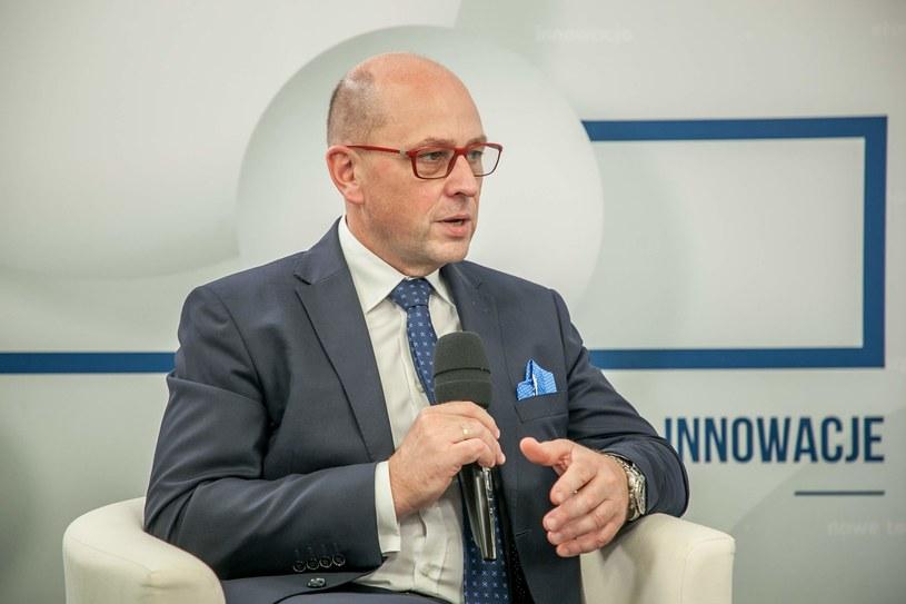 Dariusz Śliwowski, wiceprezes Agencji Rozwoju Przemysłu /INTERIA.PL