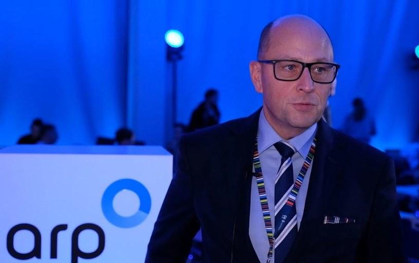 Dariusz Śliwowski, wiceprezes ARP /INTERIA.PL