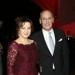 Dariusz Szpakowski z żoną na Telekamerach