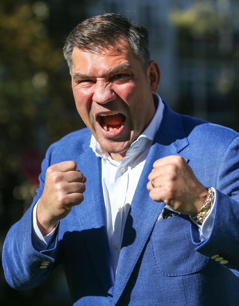 """Dariusz """"Tygrys"""" Michalczewski /KAROLINA MISZTAL/REPORTER /East News"""