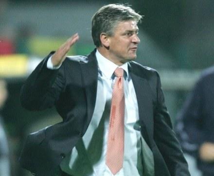 Dariusz Wdowczyk ma powody do frustracji /Agencja Przegląd Sportowy