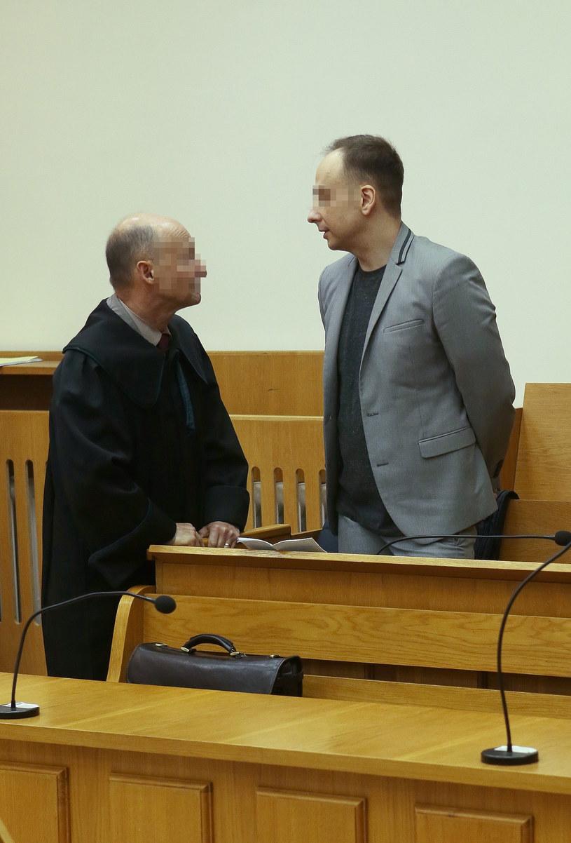 Dariusz z prawnikiem /- /East News