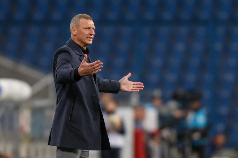 Dariusz Żuraw, trener Lecha /Paweł Jaskółka /Newspix