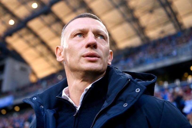Dariusz Żuraw, trener Lecha /Jakub Kaczmarczyk /PAP