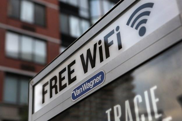 Darmowe WiFi w całym Nowym Jorku? /AFP