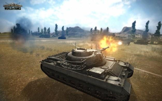 Darmowy symulator czołgów World of Tanks zdobył w Polsce szerokie grono stałych użytkowników /Informacja prasowa