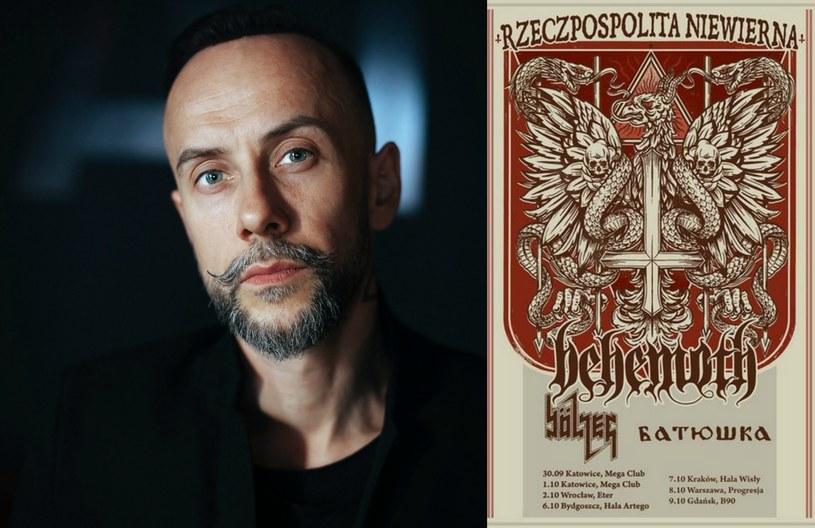 Darski nieraz wbudzał kontrowersje. Na jednym z koncertów w Gdyni podarł Biblię /Renata Dąbrowska (portret Adama Darskiego) /