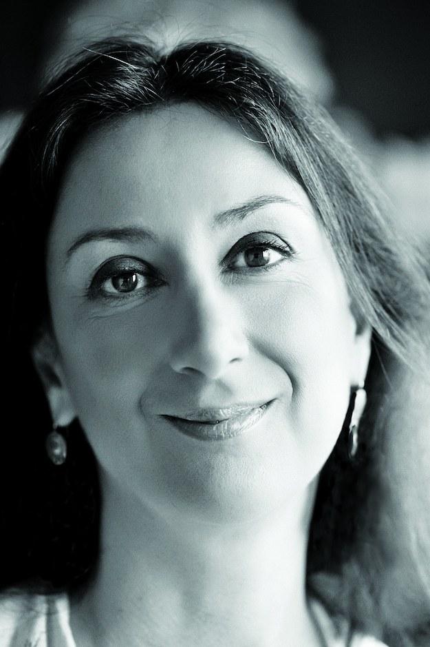 Dauphne Caruana Galizia /THE MALTA INDEPENDENT HANDOUT /PAP/EPA