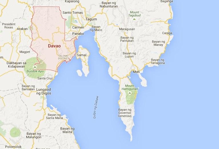 """Davao to druga (po Somalii) światowa """"mekka"""" piratów i przemytników /Google Maps /materiały prasowe"""