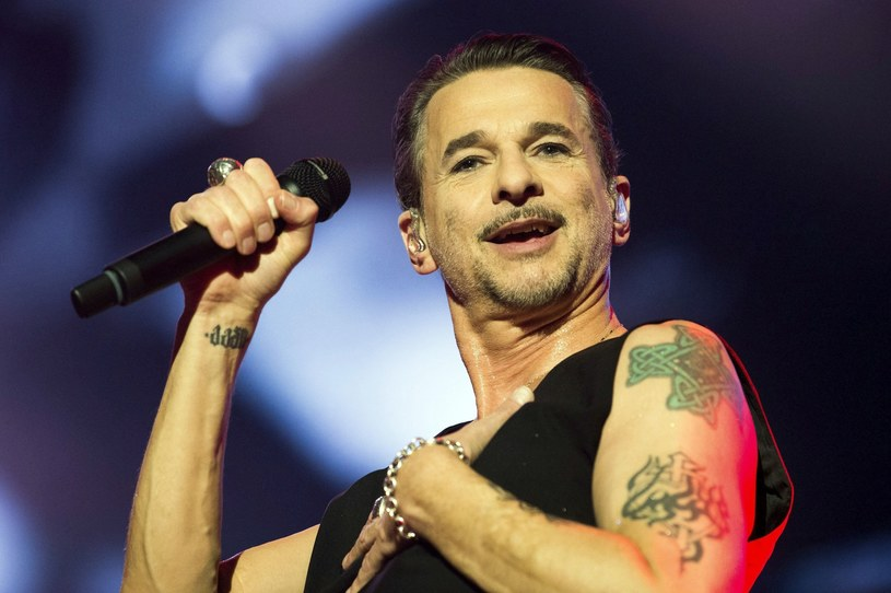 Dave Gahan (Depeche Mode) w akcji /fot. Zoltan Balogh/MTI/AP /East News