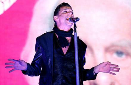 Dave Gahan (Depeche Mode) w czołówce listy - fot. Malcolm Taylor /Getty Images/Flash Press Media