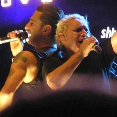 Dave Gahan i Martin Gore (Depeche Mode) /INTERIA.PL
