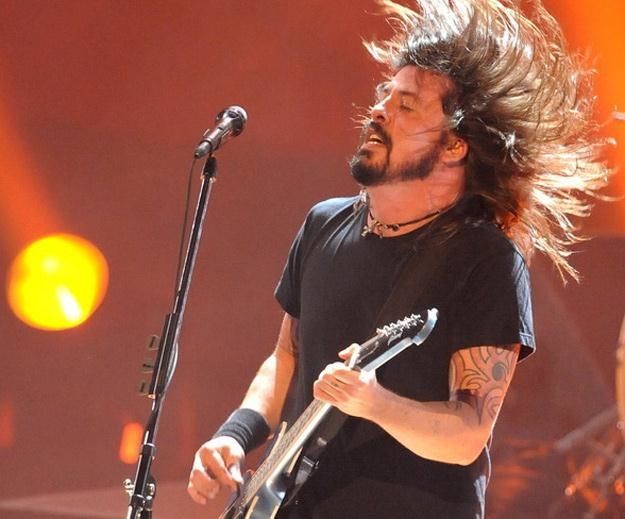 Dave Grohl - lider Foo Fighters i były perkusista Nirvany /AFP
