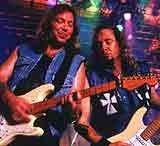 Dave Murray i Adrian Smith (Iron Maiden) /