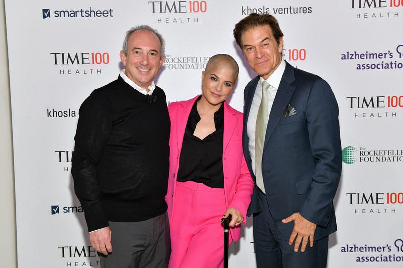 David Agus, Selma Blair, Mehmet Oz /Craig Barritt /Getty Images