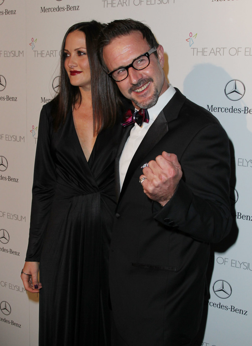 David Arquette i Christina McLarty /David Buchan /Getty Images