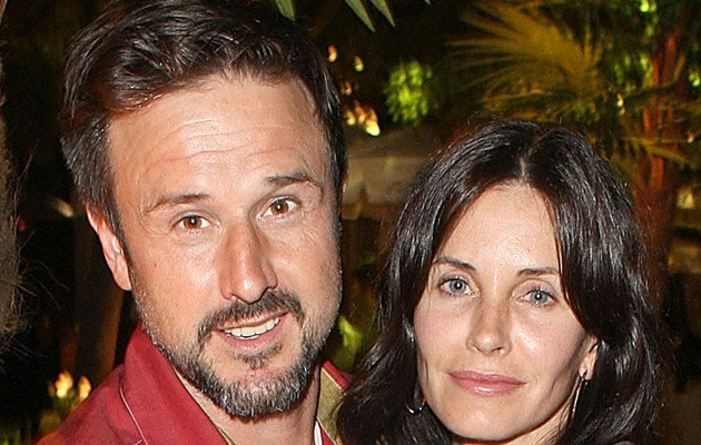 David Arquette i Courteney Cox, fot. Jason Merritt   /Getty Images/Flash Press Media