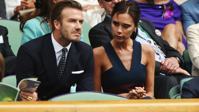 David Beckham i Victoria Beckham /Matthew Stockman /Getty Images