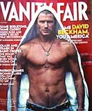 "David Beckham na okładce ""Vanity Fair"" /"