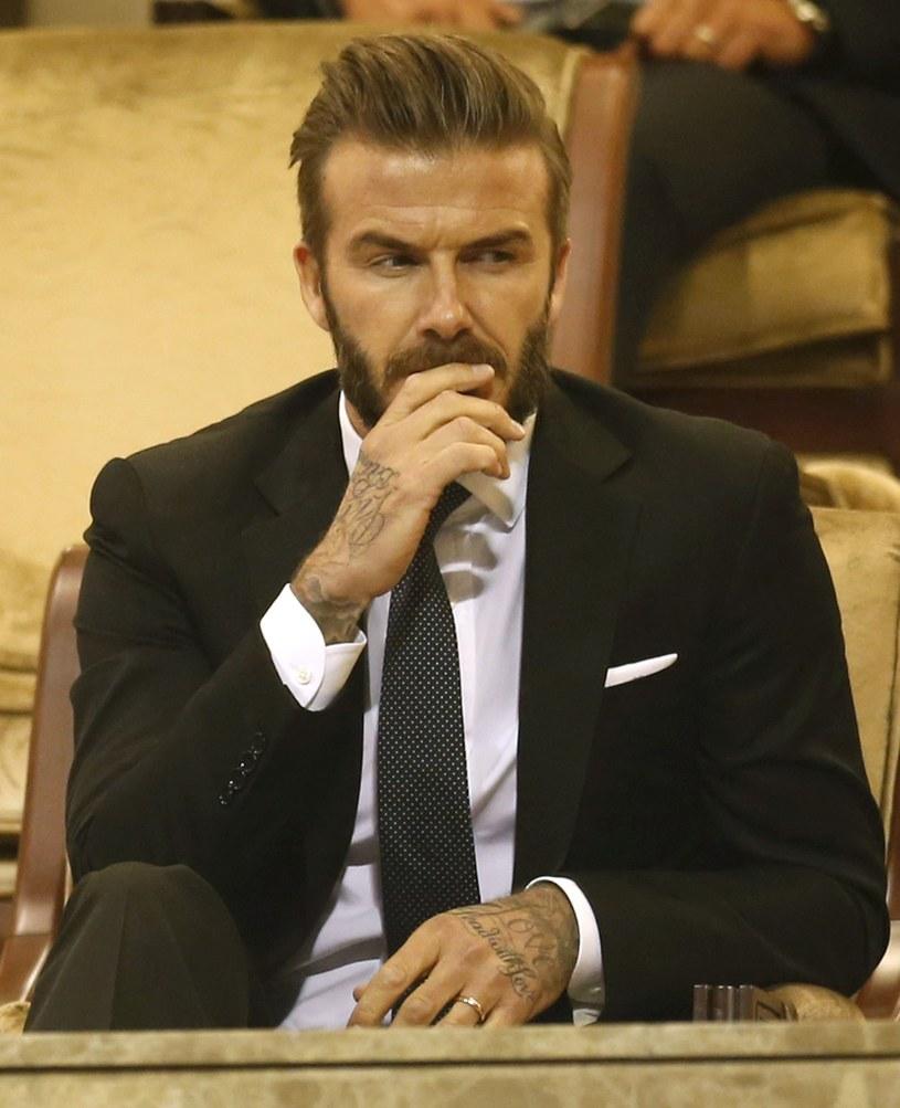David Beckham skomentował aferę w FIFA /AFP