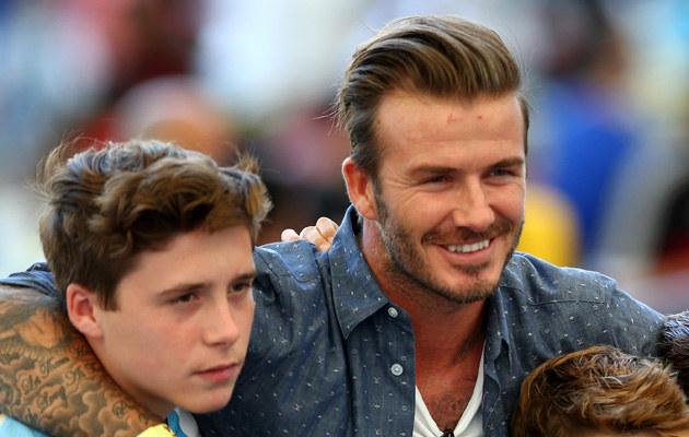 David Beckham skompromitował swojego syna publicznie! /Michael Steele /Getty Images