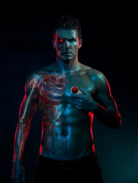 David Beckham w reklamie Motoroli /materiały prasowe