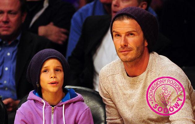 David Beckham z synem Romeo /Harry How /Getty Images