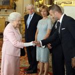 David Beckham z wizytą u... brytyjskiej królowej!