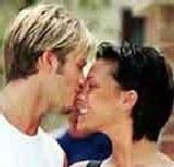 David Beckham z żoną /Archiwum