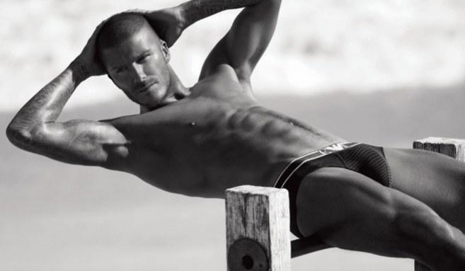 David Beckham zostal określony jako najlepszy przykład mężczyzny spornoseksualnego /materiały prasowe