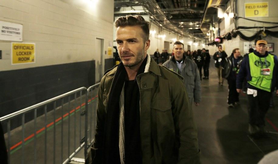 David Beckham /Peter Foley /PAP/EPA