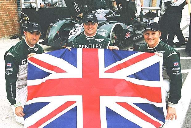 David Brabham, Mark Blundell i Johnny Herbert (kliknij) /INTERIA.PL