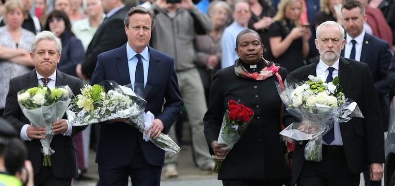 David Cameron, Jeremy Corbyn, John Bercow /PAP/EPA