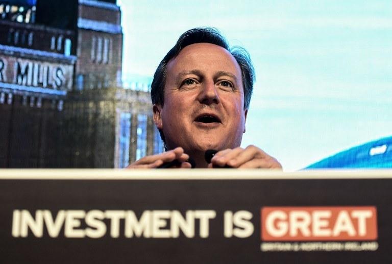 David Cameron powiedział, że nielegalni imigranci próbujący przedostać się do jego kraju będą zawracani /AFP
