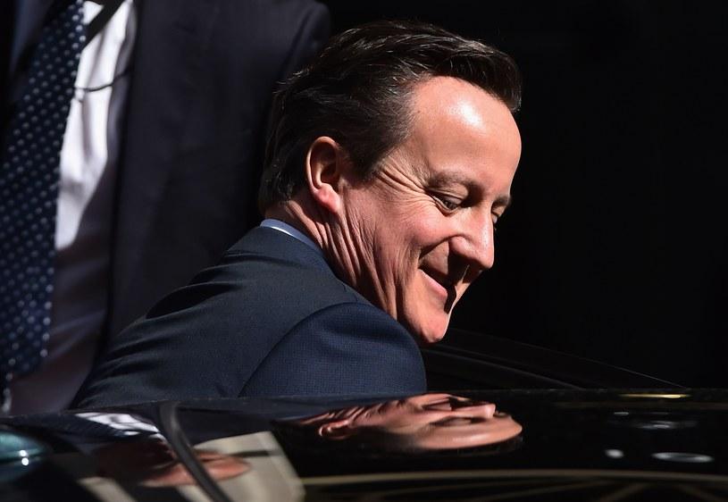 David Cameron - premier Wielkiej Brytanii /AFP