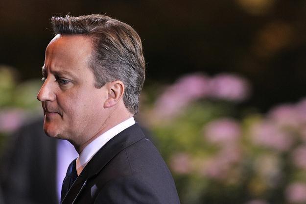 David Cameron, premier Wielkiej Brytanii /AFP
