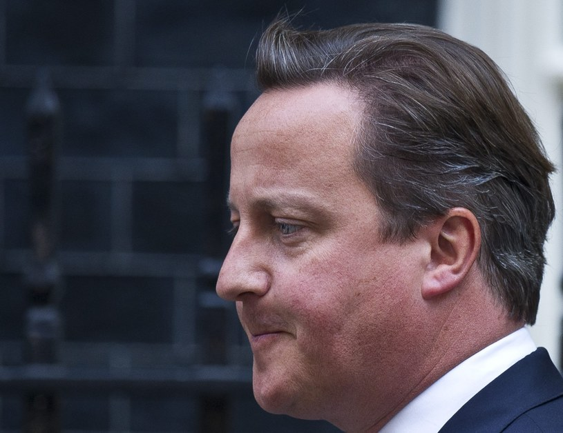 David Cameron /FACUNDO ARRIZABALAGA /PAP/EPA